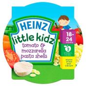 Heinz Little Kidz Tomato & Mozzarella Pasta Shells 18mth+