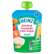 Heinz Mashed Tomato & Mozzarella Pasta Shapes 7mth+