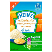 Heinz Multigrain with Carrot, Sweetcorn & Cheese Dinners 7mth+
