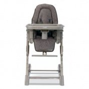 Combi High Chair - Bronze - Baby Chairs - Children's Highchairs - Comfortable Design and Style with Ease - 5 Position Height Adjustment - 3 Position Seat Recline - 5 Points Harness with Shoulder Pads