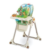 Amazing Fisher-Price Rainforest Healthy Care High Chair baby gift idea