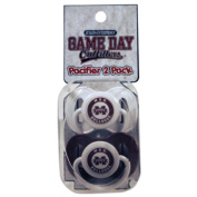 Officially Licenced NCAA Mississippi State Bulldogs College Colours Infant/Baby Pacifer