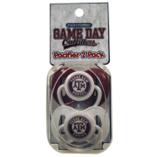 Officially Licenced NCAA Texas A And M Aggies College Colours Infant/Baby Pacifer