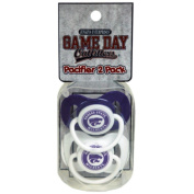 Officially Licenced NCAA Kansas State Wildcats College Colours Infant/Baby Pacifer