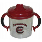 Officially Licenced NCAA South Carolina Gamecocks College Colours Infant/Baby No Spill Mug