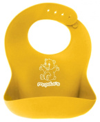 BABYSOFT 44 - the Ultimate Silicone Baby Bib Solution - Fitting Growing Babies 4 Months to 4 Years Old comfortably with Smart Buttons - Using Drying Rack, Dryer and Cutting Energy Bills. We Do None of Those. We Just Rinse, and Quick Air-Dry ... The Res ..