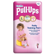 Huggies Pull-Ups Potty Training Pants for Girls Size 6 Large 16-23kg