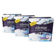 Always Discreet, Incontinence Pads, Moderate, Long Length, 162 Count