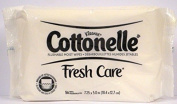 Cottonelle Flushable Moist Wipes, Fresh Care, Refill, 56 Count (Pack of 4) 224 Total