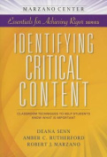 Identifying Critical Content