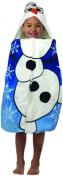Disney Frozen Olaf Hooded Poncho Bath Towel