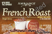 12 K-Cup Keurig Ambiance French Roast Coffee, Dark, 130ml