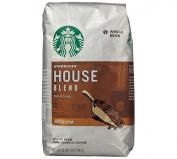 Starbucks House Blend Whole Bean - 0.9kg.