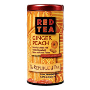 The Republic Of Tea Ginger Peach Red Tea, 36 Tea Bags