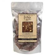 Luna Roasters® Gourmet Tea, Orange Rooibos, Extra Fancy Loose Leaf Herbal Tea in Individual Pyramids