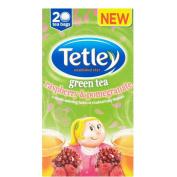 Tetley Green Tea with Raspberry & Pomegranate