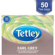 Tetley Earl Grey Tea Bags (50)