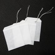 100pcs/lot Empty Teabags String Heat Seal filter Paper Herb Loose Tea Bags Teabag