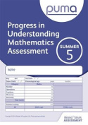 PUMA Test 5, Summer Pk10 (Progress in Understanding Mathematics Assessment)