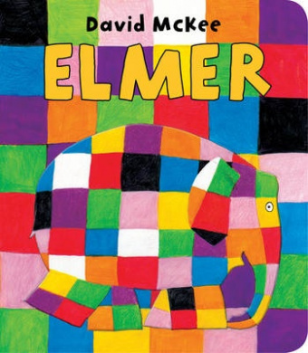 Elmer (Elmer) [Board book]