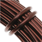 Aluminium Craft Wire 12 Gauge 12m BROWN