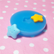 Kawaii Cute Smile Star Cookie Fondant Silicone Mould for Cake Cookie Decorating Chocolate Soap Epoxy Clay Fimo Clay 031LBQ