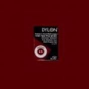 Dylon Multi-purpose Dye#11 Bordeaux 5 G. For Cotton, Linin, Wool, Nylon, Wood, Button, Plastic, Shell, Feather, Dried Flower Etc.