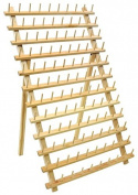 120 Spool Wood Thread Rack - Great for Sewing And Embroidery Machine Thread- Great Addition For a Sewing Room