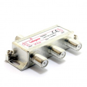 kenable F-Type Screw Connector Splitter For Cable 3 way