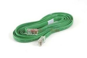 Cisco Green FLAT Ethernet Cable -RJ45 to RJ45 Rollover Console Cable CAT5 - 72-1258-01 - Lifetime Warranty