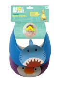 Animal Planet Bath Visors, Penguin and Shark