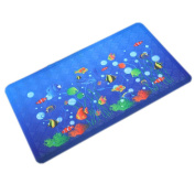 Baby Infant Bathing Mat Toddler Kid Non-slip Rug SEA WORLD