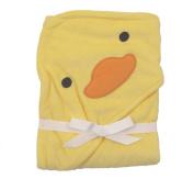 Carter's Duck Ducky Hooded Hoodie Towel Yellow Baby Towel