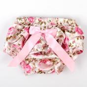 ANDI ROSE Cute Baby Girls Pettiskirt Ruffle Panties Briefs Bloomer Nappy Cover