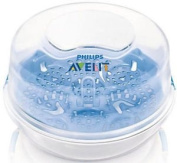 Philips Avent NEW Microwave Natural Steam Baby Bottle Steriliser Scf281/02 Great Gift for Baby. Ship Worldwide