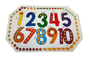 Learn Your Numbers Vinyl Placemat Set of 2