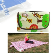 KF Baby Feeding & Play Mat - Happy Jungle