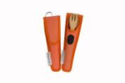 To-Go Ware RePEat Bamboo Kids Utensil Flatware Set- Orange