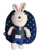 Gaorui 2013 New Baby Toddler Child Kid Cartoon Backpack Schoolbag Shoulder Bags _ Rabbit Navy