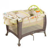 Summer Infant Playard and Changer, Fox and Friends Grow with Me
