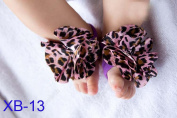 1 Pair Infant Barefoot Sock Sandals Newborn Baby Shoes Flowers Comfortable