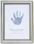 The Grandparent Gift Frame Wall Decor, Godfather Handprint