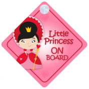 LP007 Little Princess On Board Car Sign New Baby / Child Gift / Present / Baby Shower Surprise