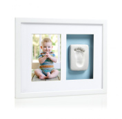 Pearhead Babyprints Wall Frame, White