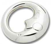 Cunill Moon Baby Rattle Plate, Silver