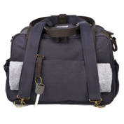 SoYoung Nappy Bag - Waxed Charcoal