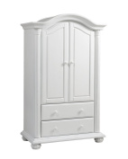 Baby Cache Heritage Armoire, White