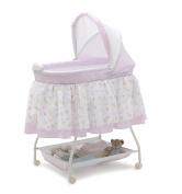 Delta Children Sweet Beginnings Bassinet, English Garden
