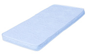 Colgate Bassinet Mattress Foam Pad with Waterproof White Quilted Cover, Rectangular, 38cm x 80cm x 5.1cm