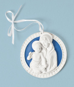 Roman 7.6cm Della Robbia Cradle Medal with Madonna & Child